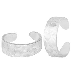 All Day Silver Toe Ring-TRRD001