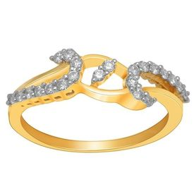 Alluring Diamond Ring - BAR2298SJ