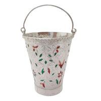 Meena Rare Silver Bucket-GP031