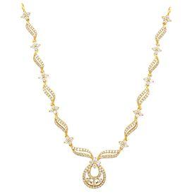 Diamond Motif Necklace-RBN0045