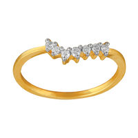 Diamond Rings - BAR683, si - ijk, 12, 14 kt