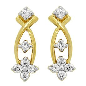Classic Diamond Earrinngs- BATS0202ER