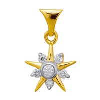 Sitaara Diamond Pendant- DAP171, si - ijk, 14 kt