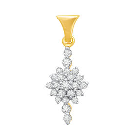 Bloom & Bud Diamond Pendant- BAPS234P