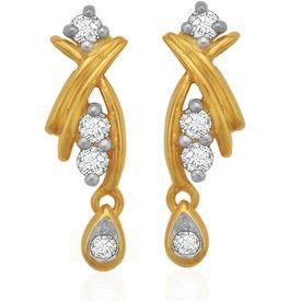 Diamond Drop Ear Cuffs- BAER0782