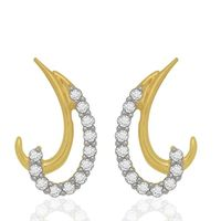 Moonlet Diamonds Studs- BAPS0532ER, si - ijk, 18 kt