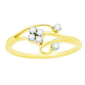 Cute Diamond Ring - BAR081