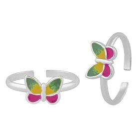 Color Pop Titli Toe Ring-TR391