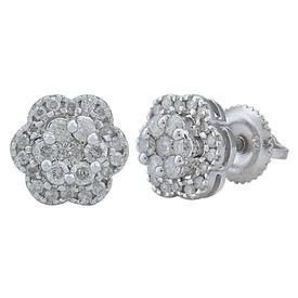 Diamond Blossom Lil Studs- AMER0576A