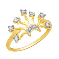 Diamond Rings - DAR24, si - ijk, 12, 18 kt