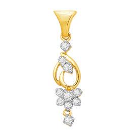 Flora Bunch Diamond Pendant- BAPS236P