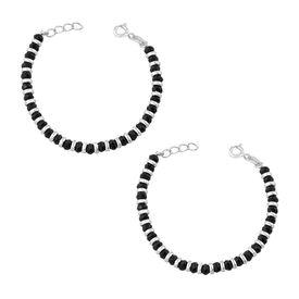 Black & Silver Beads Nazariya-BRNZ005