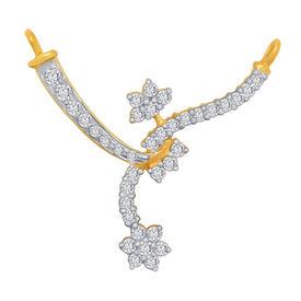 Looped Diamond Mangalsutra- BATS45T