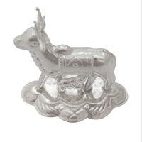 Silver Kamdhenu Cow & Calf-GP028