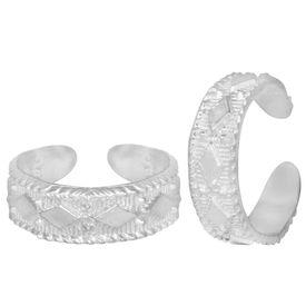 Ada Silver Toe Ring-TRRD012