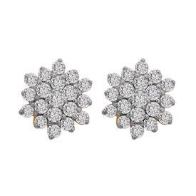 Flower Diamond Studs- BATS33ER
