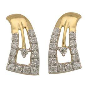 Geomatric Diamond Earrings- BAPS1955ER
