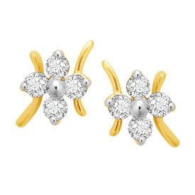 Starstruck Studs Diamond Earrings- BAPS187ER