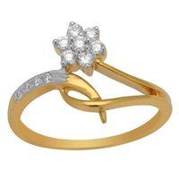 Beautiful Diamond Ring - BAR1941SJ, si - ijk, 12, 18 kt