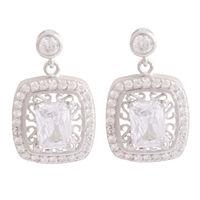 Stardom Silver Earrings-ERMX039