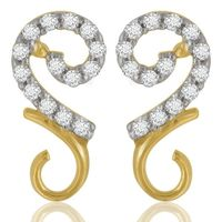 Rangoli Diamond Earrings- BAPS1237ER, si - ijk, 14 kt