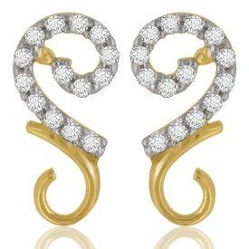 Rangoli Diamond Earrings- BAPS1237ER