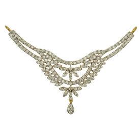 Ovate Diamond Mangalsutra- GUTS0132TCG