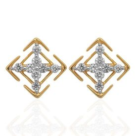 Cheerful Diamond Studs- BAPS0546ER