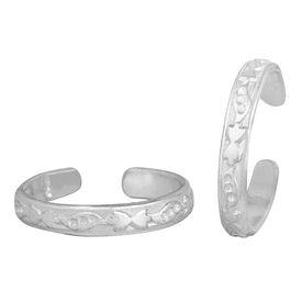 Classic Silver Toe Ring-TRRD040