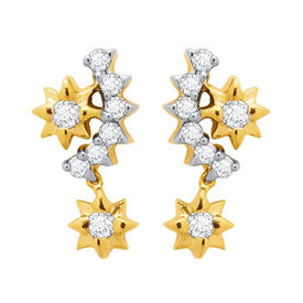 Sarika Diamond Earrings- DAPS033ER