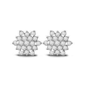 Full Bloom Diamond Studs- BAPS421ER