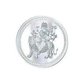 Durga Mata 10 Grams 999 Silver Coin-C04G10