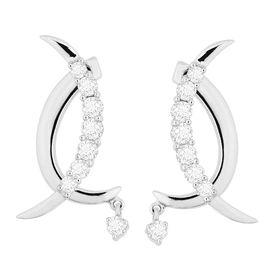 Glazing Diamond Earrings- DAER71