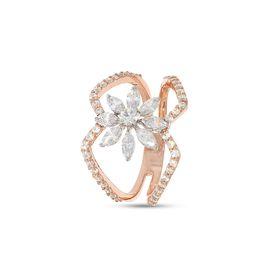 Diamond Pedaled Ring-RRI01144