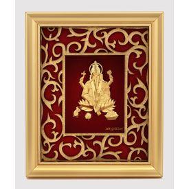 Ganapati Golden Frame-GF005