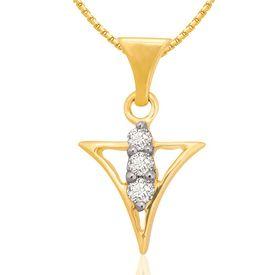 Trillium Cluster Diamond Pendant- BAPS0149P