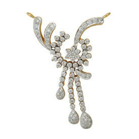 Peacock Diamond Mangalsutra- DATS7T