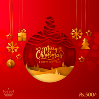 Merry Chritmas To You Gift Card, 500