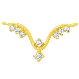 Kashish Diamond Mangalsutra- BATS0174T