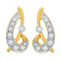 Dazzling Diamond Earrings- BAPS194ER, si - ijk, 18 kt