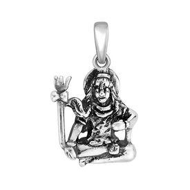 Bam Bhole Silver Pendant-PD167
