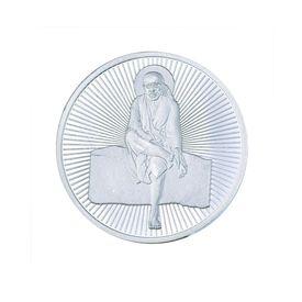 Saibaba 10 Grams 999 Silver Coin-C03G10