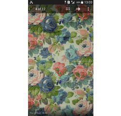 Vardhman Cotton Dohar White Floral Multicolor Double, multicolor