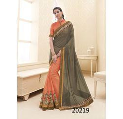 Galaxy Collection Vol 14 Designer Saree Orange, orange, georgette