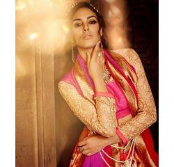 Klaur Collection Designer Lehengas Golden Beige, golden beige, bangalore silk