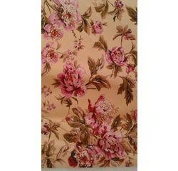 Vardhman Cotton Dohar Beige Floral Single, beige