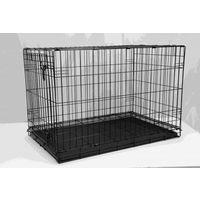 DOG CAGE BLACK ELECTRO COATED 91X58X64CM