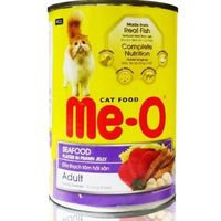 MeO Seafood in Jelly Adult Cat Can Food 400 gms