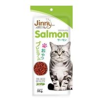 Jerhigh Jinny Salmon Cat Snack 35 gms