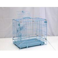 DOG CAGE-BLUE 46.5X32X40CM